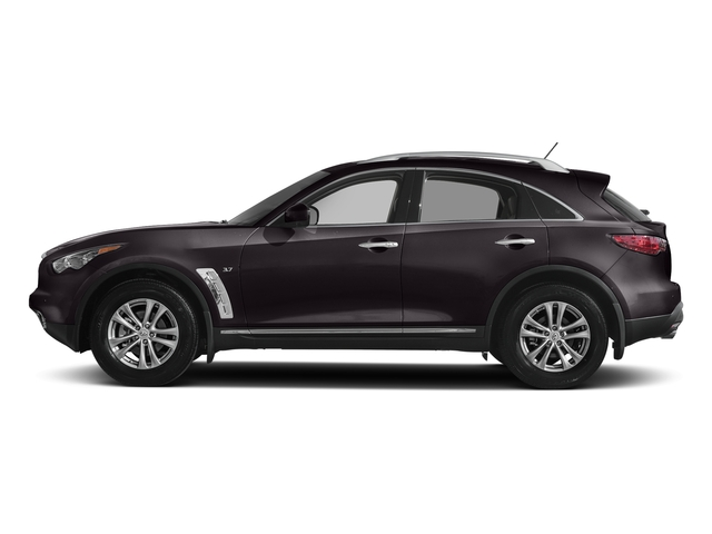 Malbec Black 2017 INFINITI QX70 Pictures QX70 RWD photos side view