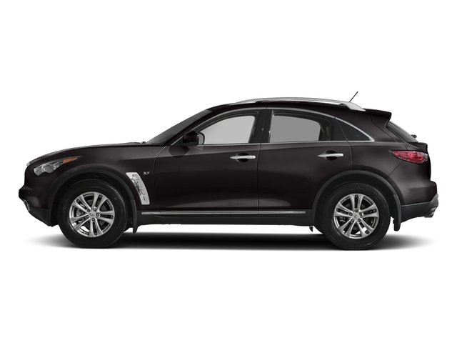 Midnight Mocha 2017 INFINITI QX70 Pictures QX70 RWD photos side view