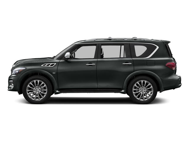 Graphite Shadow 2017 INFINITI QX80 Pictures QX80 Utility 4D Signature 2WD V8 photos side view