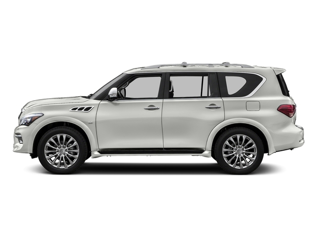 Majestic White 2017 INFINITI QX80 Pictures QX80 Utility 4D Signature 2WD V8 photos side view