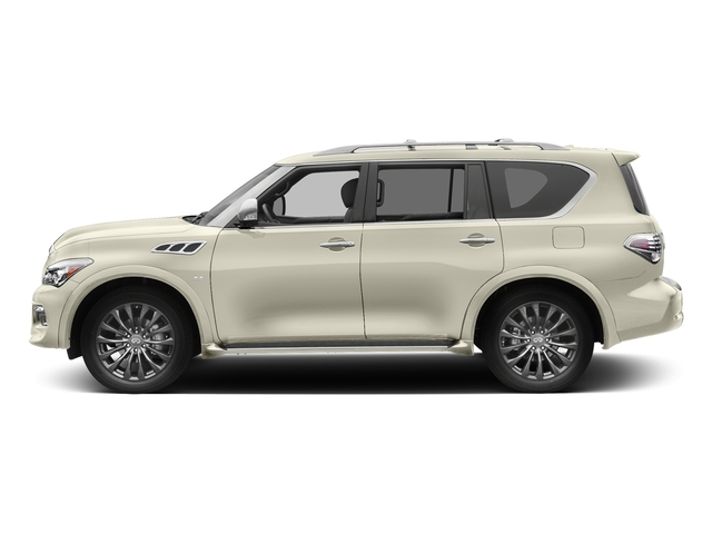 Majestic White 2017 INFINITI QX80 Pictures QX80 Utility 4D Limited AWD V8 photos side view