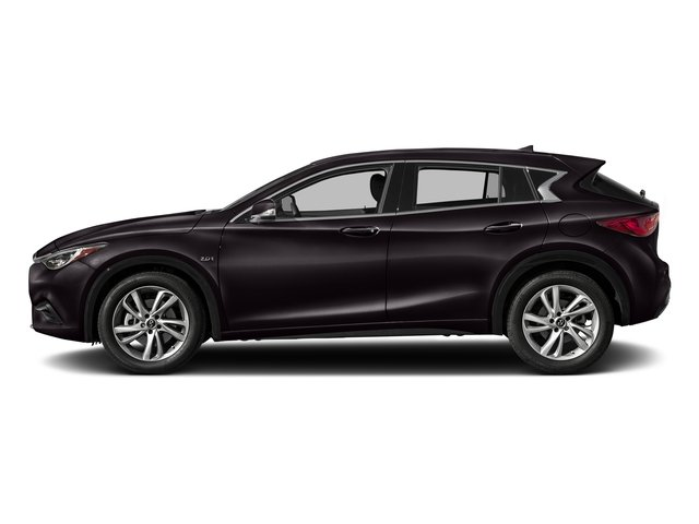 Malbec Black 2017 INFINITI QX30 Pictures QX30 Luxury FWD *Ltd Avail* photos side view