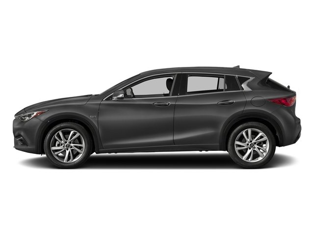 Graphite Shadow 2017 INFINITI QX30 Pictures QX30 Luxury FWD *Ltd Avail* photos side view