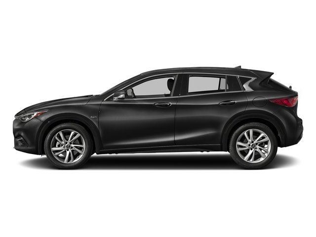 Black Obsidian 2017 INFINITI QX30 Pictures QX30 Luxury FWD *Ltd Avail* photos side view