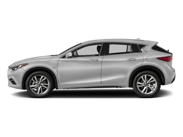Blade Silver 2017 INFINITI QX30 Pictures QX30 Luxury FWD *Ltd Avail* photos side view