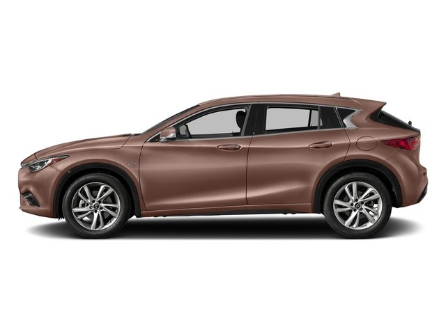 Liquid Copper 2017 INFINITI QX30 Pictures QX30 FWD photos side view
