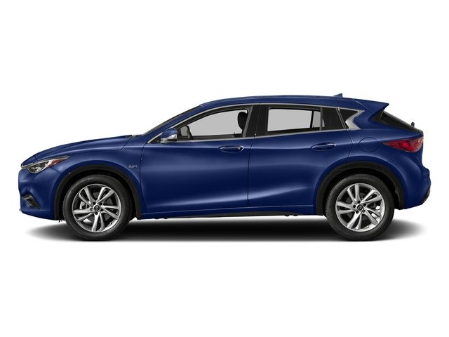 Ink Blue 2017 INFINITI QX30 Pictures QX30 Utility 4D 2WD photos side view