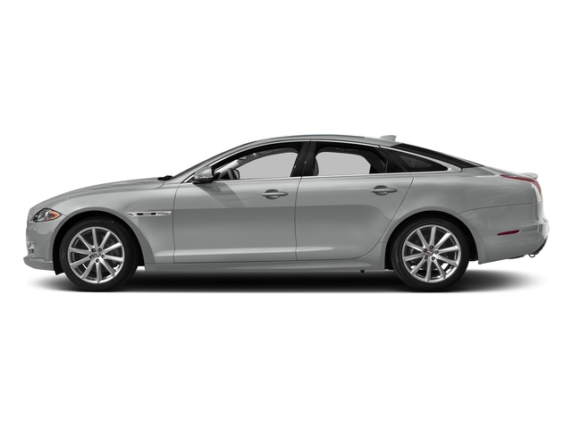 Rhodium Silver Metallic 2017 Jaguar XJ Pictures XJ Sedan 4D V8 Supercharged photos side view