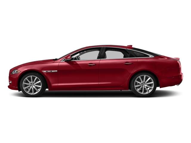 Italian Racing Red Metallic 2017 Jaguar XJ Pictures XJ Sedan 4D R-Sport AWD V6 Supercharged photos side view