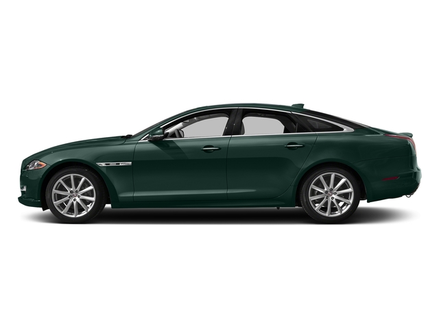 British Racing Green Metallic 2017 Jaguar XJ Pictures XJ Sedan 4D R-Sport AWD V6 Supercharged photos side view