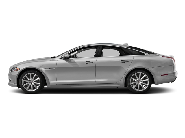 Gallium Silver 2017 Jaguar XJ Pictures XJ Sedan 4D V8 Supercharged photos side view