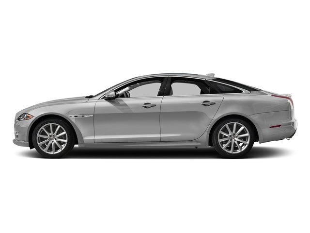 Gallium Silver 2017 Jaguar XJ Pictures XJ Sedan 4D R-Sport AWD V6 Supercharged photos side view
