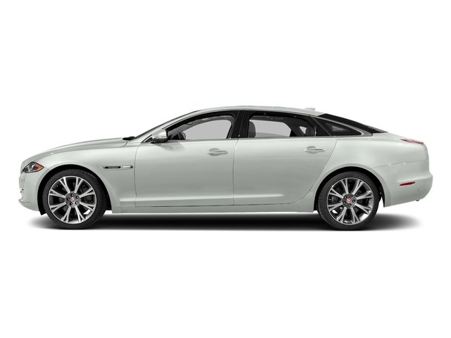 Polaris White 2017 Jaguar XJ Pictures XJ XJL Supercharged RWD photos side view