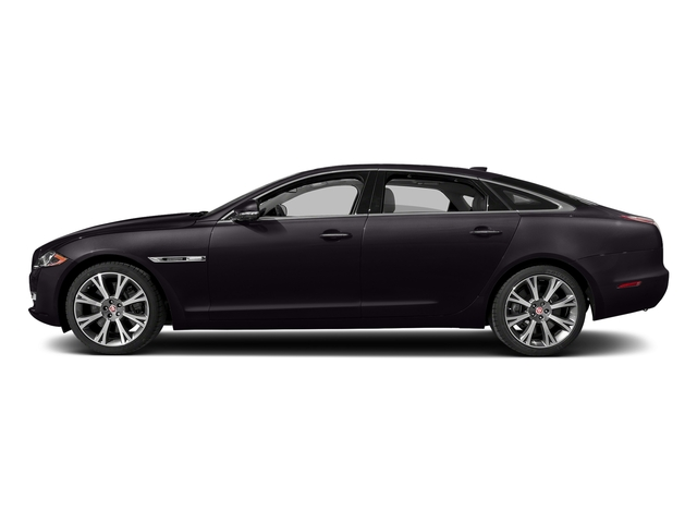Black Berry 2017 Jaguar XJ Pictures XJ XJL Supercharged RWD photos side view