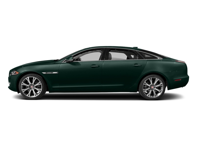 British Racing Green Metallic 2017 Jaguar XJ Pictures XJ XJL Supercharged RWD photos side view