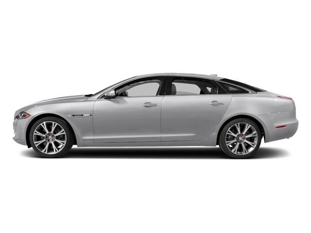 Glacier White Metallic 2017 Jaguar XJ Pictures XJ XJL Supercharged RWD photos side view