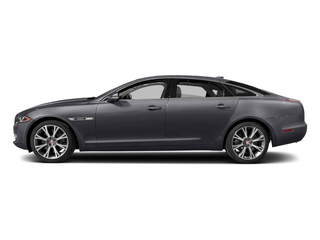 Tempest Gray 2017 Jaguar XJ Pictures XJ XJL Supercharged RWD photos side view