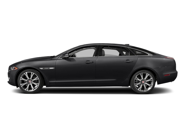 Storm Gray 2017 Jaguar XJ Pictures XJ XJL Supercharged RWD photos side view