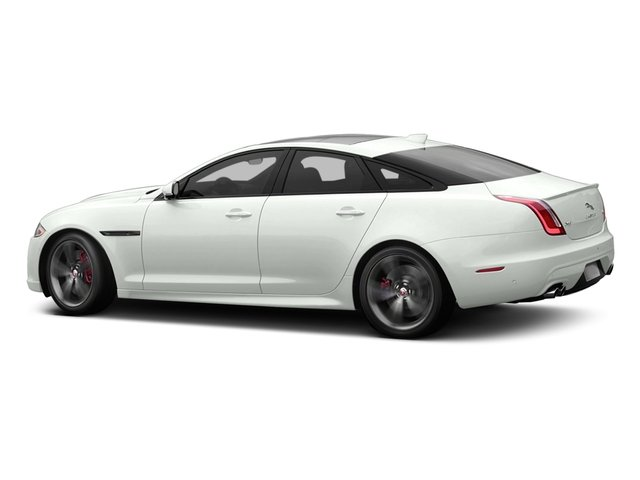 Polaris White 2017 Jaguar XJ Pictures XJ Sedan 4D XJR V8 Supercharged photos side view