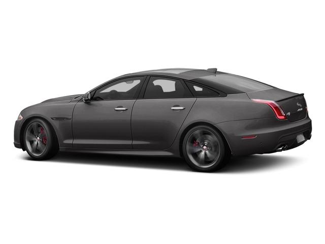 Ammonite Gray Metallic 2017 Jaguar XJ Pictures XJ Sedan 4D XJR V8 Supercharged photos side view