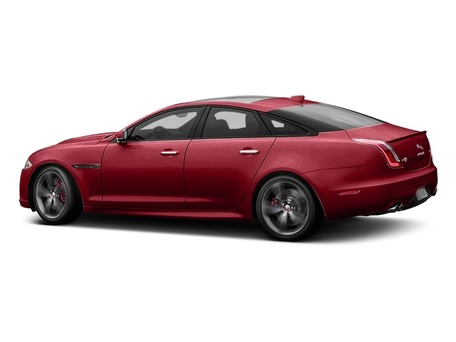 Italian Racing Red Metallic 2017 Jaguar XJ Pictures XJ Sedan 4D XJR V8 Supercharged photos side view