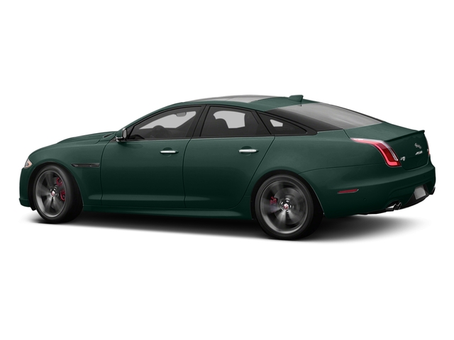 British Racing Green Metallic 2017 Jaguar XJ Pictures XJ Sedan 4D XJR V8 Supercharged photos side view