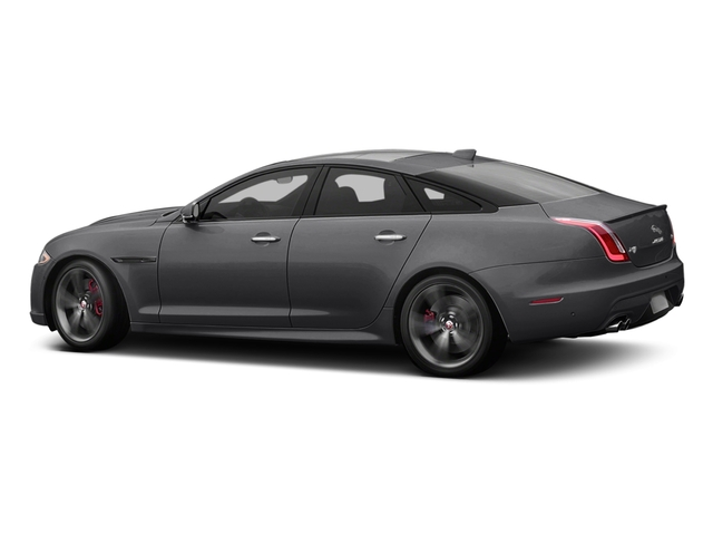 Tempest Gray 2017 Jaguar XJ Pictures XJ Sedan 4D XJR V8 Supercharged photos side view