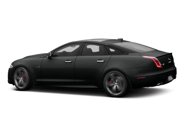 Cosmic Black 2017 Jaguar XJ Pictures XJ Sedan 4D XJR V8 Supercharged photos side view