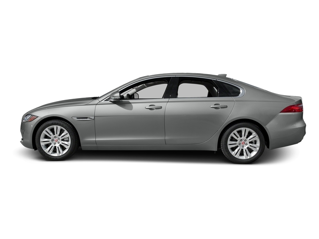 Rhodium Silver Metallic 2017 Jaguar XF Pictures XF Sedan 4D 35t Premium AWD V6 Sprchrd photos side view