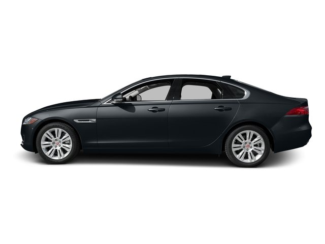 Celestial Black 2017 Jaguar XF Pictures XF Sedan 4D 35t Premium V6 Supercharged photos side view
