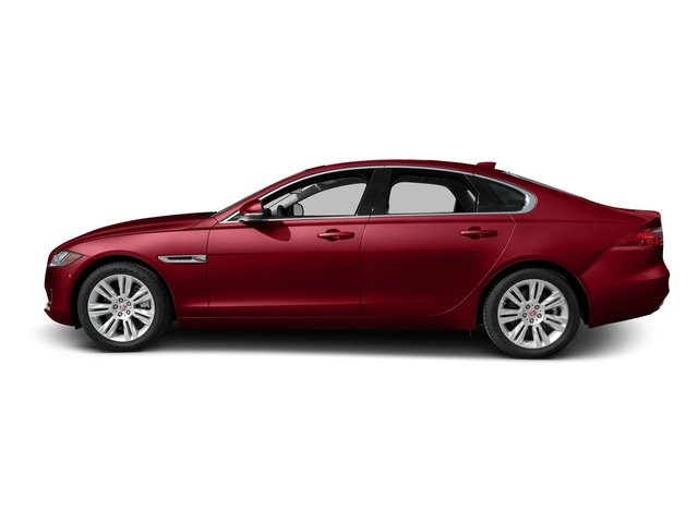 Italian Racing Red Metallic 2017 Jaguar XF Pictures XF Sedan 4D 35t Premium AWD V6 Sprchrd photos side view