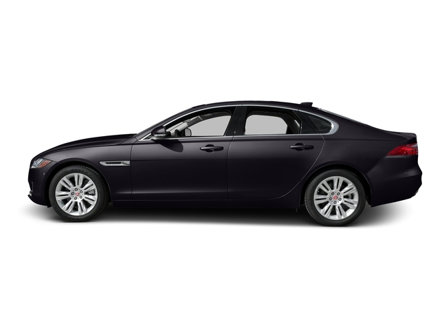 Black Berry 2017 Jaguar XF Pictures XF Sedan 4D 35t Premium AWD V6 Sprchrd photos side view