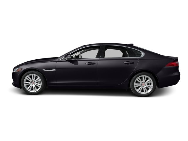 Black Berry 2017 Jaguar XF Pictures XF Sedan 4D 35t Premium V6 Supercharged photos side view