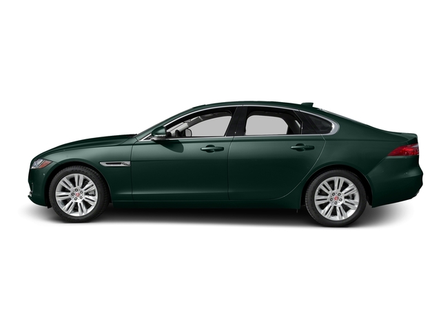 British Racing Green Metallic 2017 Jaguar XF Pictures XF Sedan 4D 35t Premium AWD V6 Sprchrd photos side view