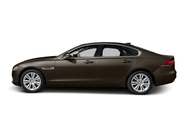 Quartzite Metallic 2017 Jaguar XF Pictures XF 35t Premium RWD photos side view