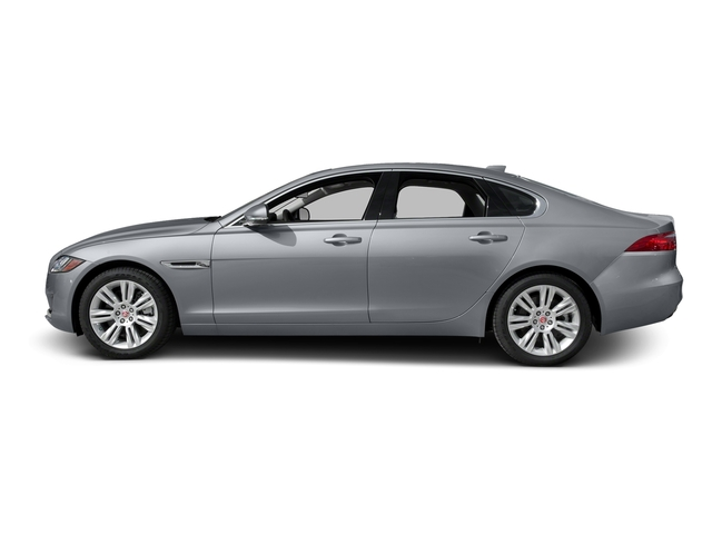 Glacier White Metallic 2017 Jaguar XF Pictures XF Sedan 4D 35t Premium AWD V6 Sprchrd photos side view