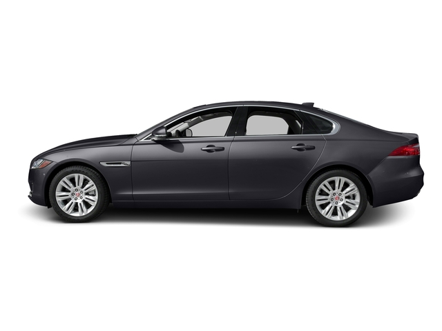 Tempest Gray 2017 Jaguar XF Pictures XF 35t Premium RWD photos side view