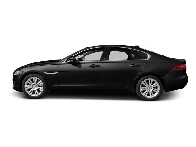 Ebony 2017 Jaguar XF Pictures XF Sedan 4D 35t Premium V6 Supercharged photos side view