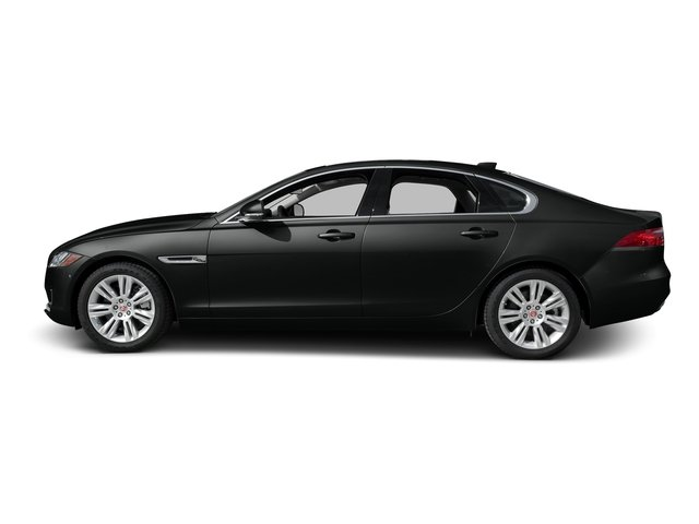 Cosmic Black 2017 Jaguar XF Pictures XF Sedan 4D 35t Premium AWD V6 Sprchrd photos side view