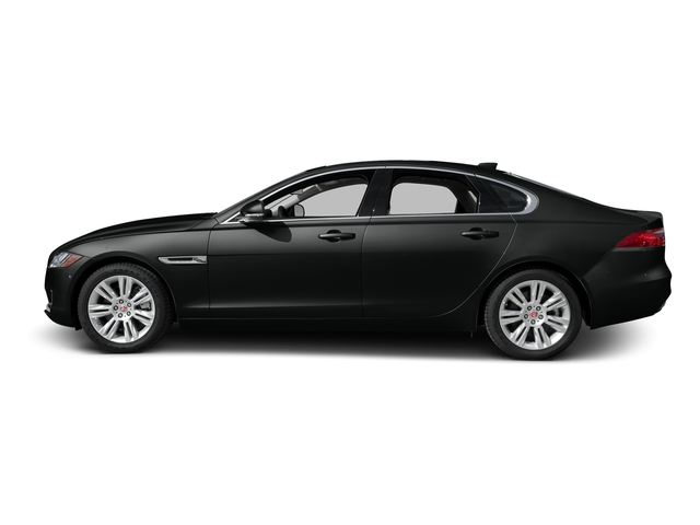 Cosmic Black 2017 Jaguar XF Pictures XF Sedan 4D 35t Premium V6 Supercharged photos side view