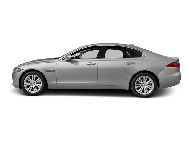 Gallum Silver 2017 Jaguar XF Pictures XF Sedan 4D 35t Premium AWD V6 Sprchrd photos side view