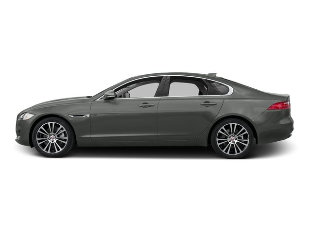 Ammonite Gray Metallic 2017 Jaguar XF Pictures XF 35t Prestige AWD photos side view