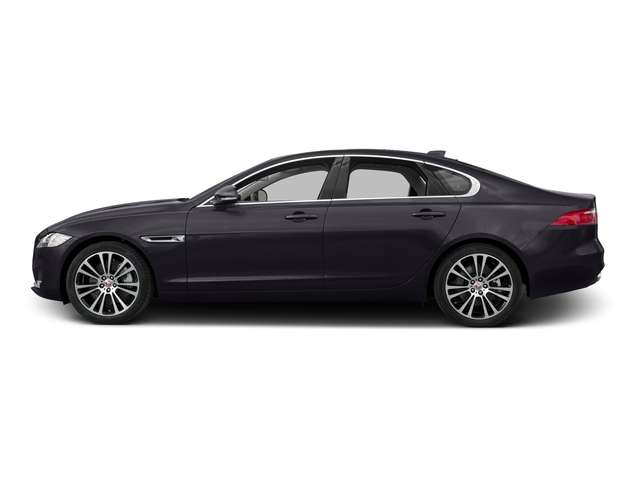 Black Berry 2017 Jaguar XF Pictures XF 35t Prestige AWD photos side view