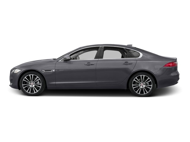 Tempest Gray 2017 Jaguar XF Pictures XF 35t Prestige AWD photos side view