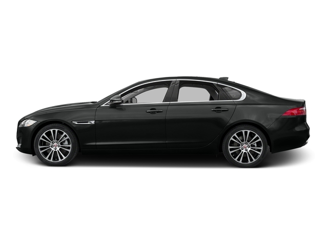 Cosmic Black 2017 Jaguar XF Pictures XF 20d Prestige AWD photos side view