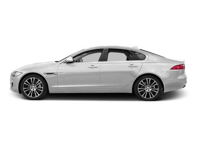 Gallum Silver 2017 Jaguar XF Pictures XF 20d Prestige AWD photos side view