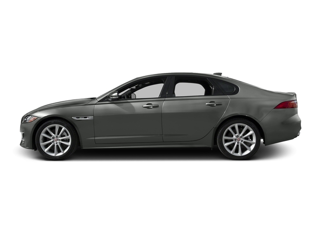 Ammonite Gray Metallic 2017 Jaguar XF Pictures XF 35t R-Sport RWD photos side view
