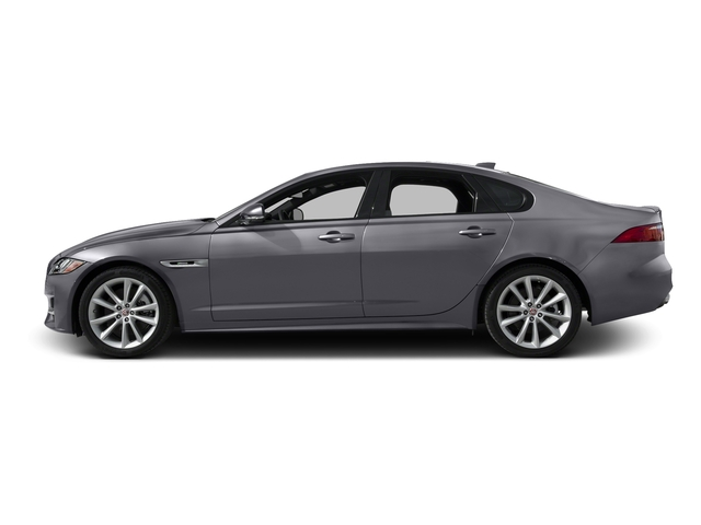 Tempest Gray 2017 Jaguar XF Pictures XF 35t R-Sport RWD photos side view