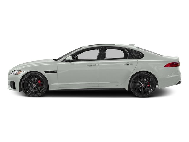 Polaris White 2017 Jaguar XF Pictures XF S RWD photos side view