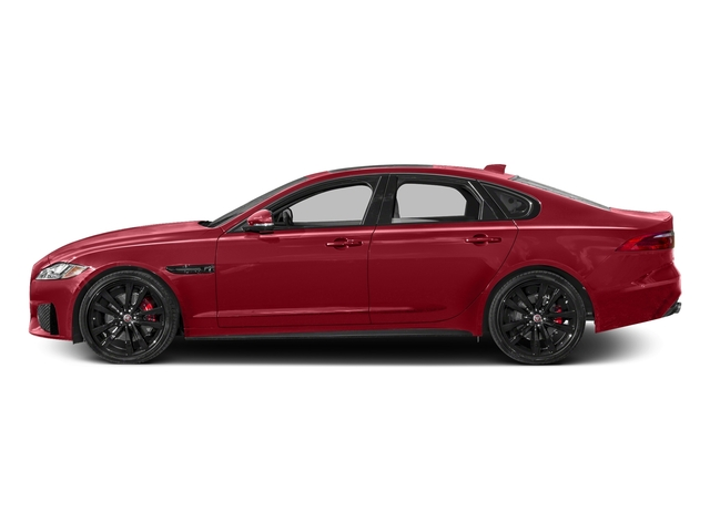 Italian Racing Red Metallic 2017 Jaguar XF Pictures XF S RWD photos side view